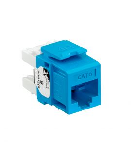 Jack Cat6 Azul Quickport