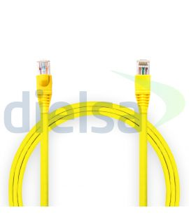 Patch Cord Cat6 Amarillo 15 Pies - 4.57 Metros